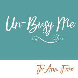 Un-Busy Me! {Making Space for What Matters Most}