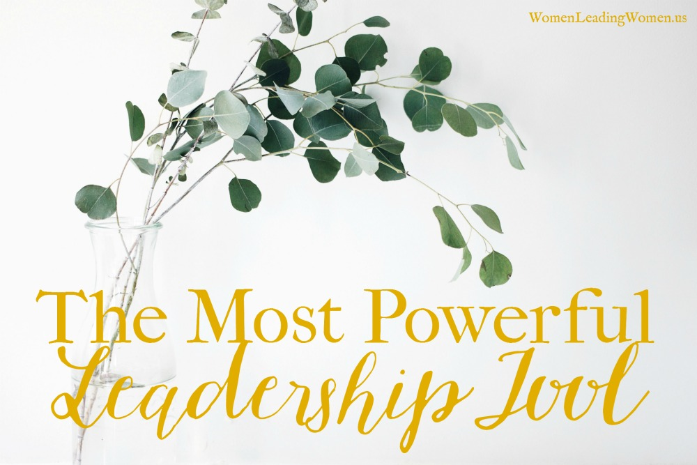 The Most Powerful Leadership Tool
