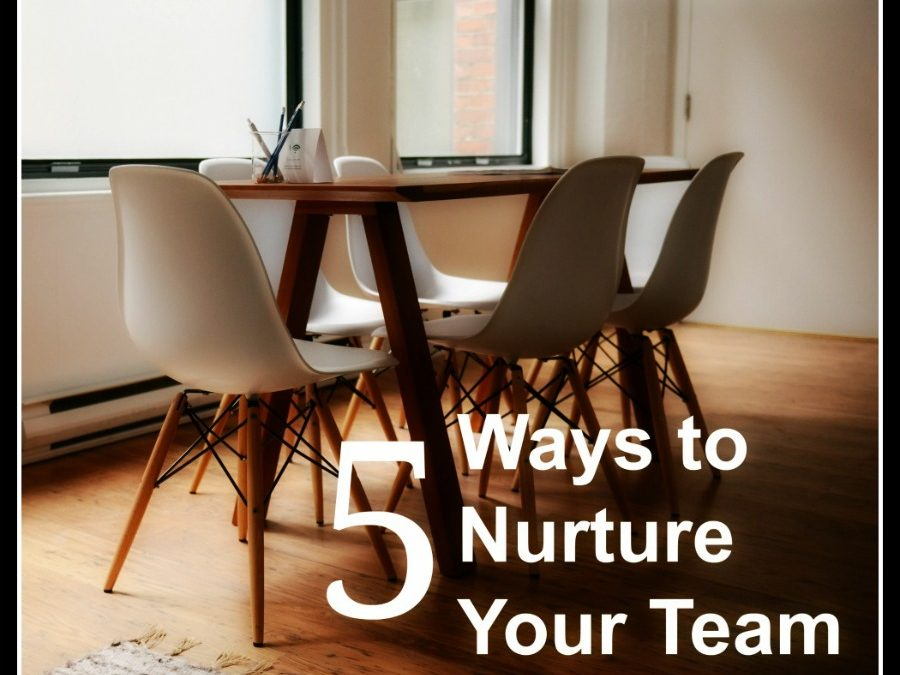 5 Keys to Nurturing Your Team